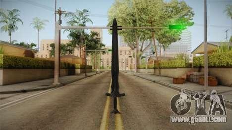 The Elder Scrolls V: Skyrim - Steel Sword for GTA San Andreas second screenshot