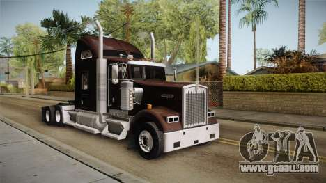Kenworth W900 ATS 6x2 Middit Cab Normal for GTA San Andreas right view