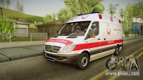 Mercedes-Benz Sprinter Turkish Ambulance for GTA San Andreas