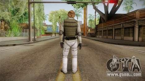 007 EON Nikolai Diavolo-Willem Dafoe for GTA San Andreas third screenshot