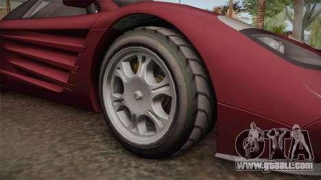 GTA 5 Progen GP1 for GTA San Andreas inner view