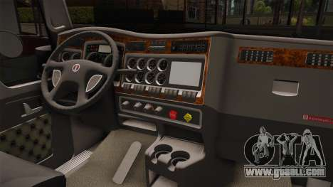 Kenworth W900 ATS 6x2 Middit Cab Normal for GTA San Andreas inner view