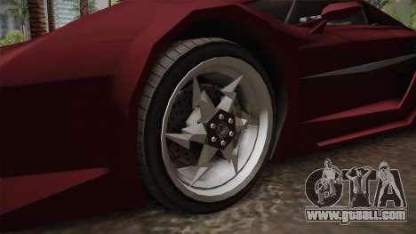 GTA 5 Pegassi Lampo 2017 IVF for GTA San Andreas back view