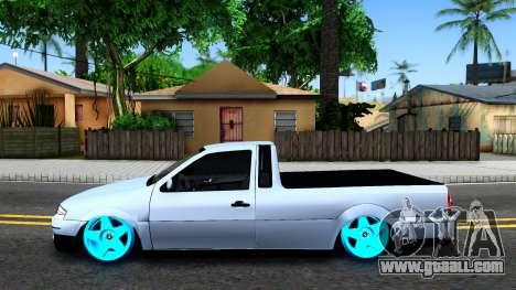 Volkswagen Saveiro G4 for GTA San Andreas left view