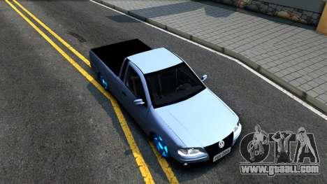 Volkswagen Saveiro G4 for GTA San Andreas right view