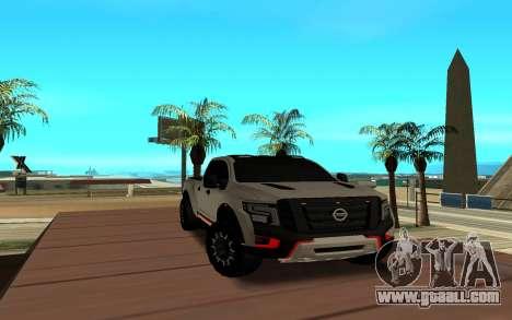 Nissan Titan for GTA San Andreas