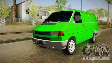 Volkswagen T4 1995 for GTA San Andreas right view