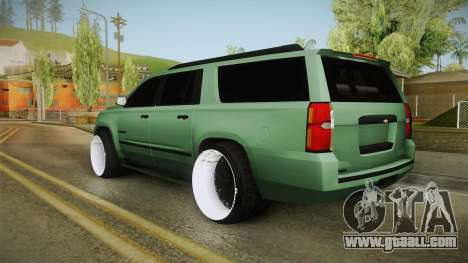 Chevrolet Tahoe GT Stance Bass Booster for GTA San Andreas right view