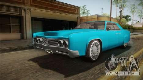 GTA 5 Albany Virgo Continental IVF for GTA San Andreas