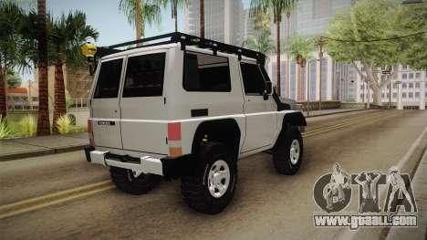 Toyota Land Cruiser Machito for GTA San Andreas left view