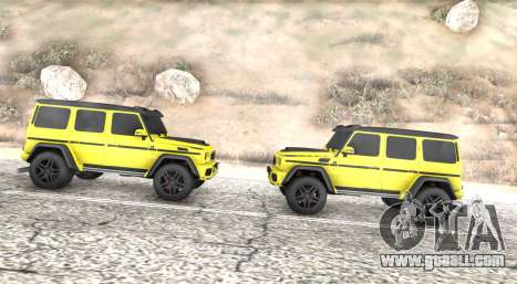 Mercedes-Benz G63 4x4 for GTA San Andreas left view