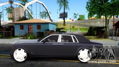 Rolls-Royce Phantom for GTA San Andreas left view