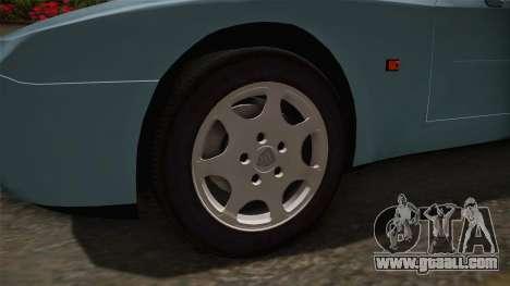 Porche Turbo for GTA San Andreas back view