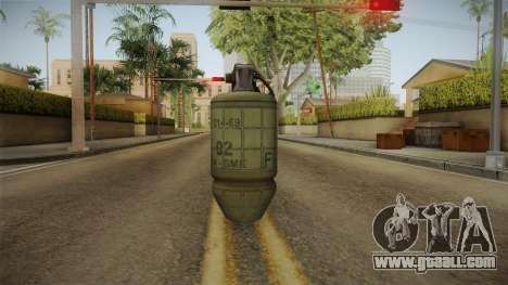 Battlefield 4 - M34 for GTA San Andreas third screenshot