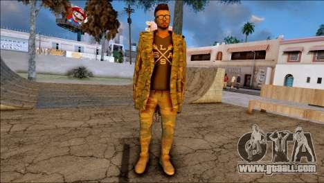 SKIN GTA ONLINE DLC for GTA San Andreas third screenshot
