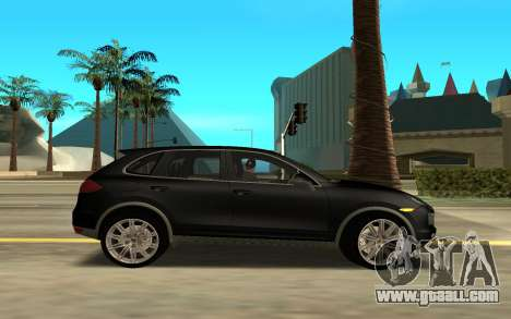 Porsche Cayenne Turbo S for GTA San Andreas left view
