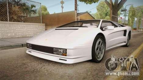 GTA 5 Pegassi Infernus Classic for GTA San Andreas