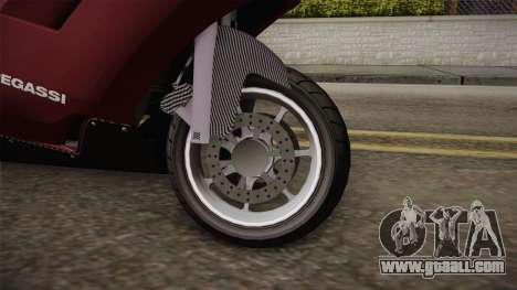 EFLC TLaD Pegassi Bati 801 v2 for GTA San Andreas back view