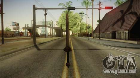Injustice: Gods Among Us - Wonder Woman Sword for GTA San Andreas second screenshot