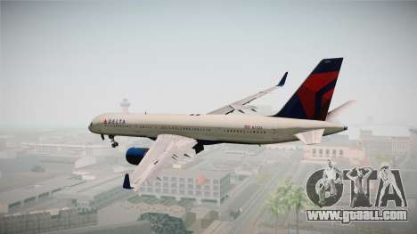 Boeing 757-200 Delta Air Lines for GTA San Andreas right view