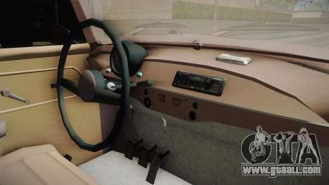 Trabant 601 Kombi for GTA San Andreas back view