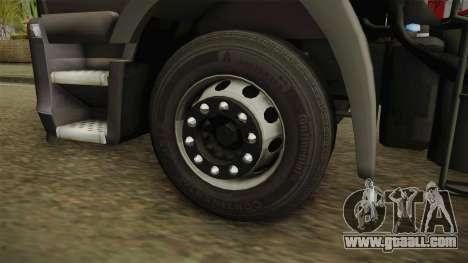 Iveco Stralis Hi-Way 560 E6 6x2 Timber v3.0 for GTA San Andreas back view