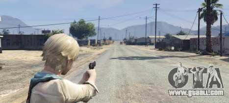 GTA 5 Sherry Birkin Resident Evil 6 fourth screenshot