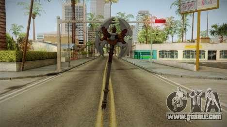 Injustice: Gods Among Us - Ares Axe for GTA San Andreas third screenshot