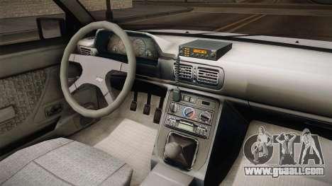 Daewoo-FSO Polonez Caro Plus 1.6 GLi Security for GTA San Andreas inner view