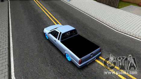 Volkswagen Saveiro G4 for GTA San Andreas back view