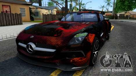 Mercedes-Benz SLS AMG Space for GTA San Andreas
