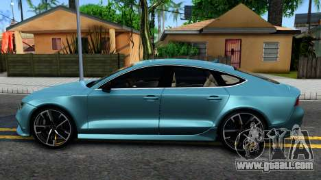 Audi RS7 Sportback for GTA San Andreas left view