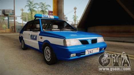 Daewoo-FSO Polonez Caro Plus Policja 2 1.6 GLi for GTA San Andreas right view