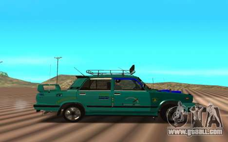 2107 for GTA San Andreas left view