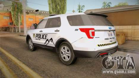 Ford Explorer 2012 Angel Pine PD for GTA San Andreas left view