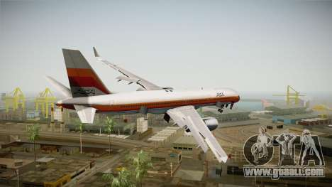 Boeing 757-200 Pacific Southwest Airlines for GTA San Andreas right view