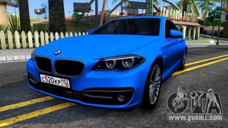 BMW 520i F10 for GTA San Andreas