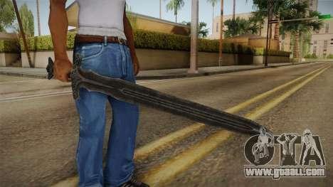 The Elder Scrolls V: Skyrim - Steel Sword for GTA San Andreas