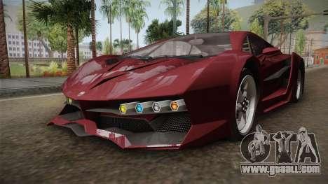 GTA 5 Pegassi Lampo 2017 IVF for GTA San Andreas right view