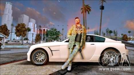 SKIN GTA ONLINE DLC for GTA San Andreas second screenshot