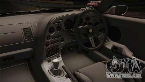 Toyota Supra 8PraLift Hachi NieR Automata 2B for GTA San Andreas inner view