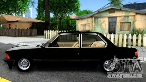 BMW 316 E21 for GTA San Andreas left view