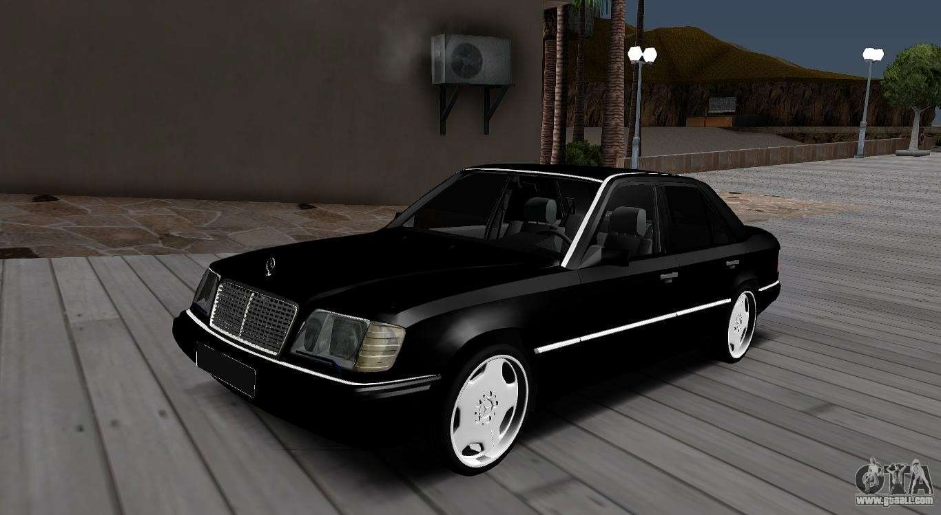 mercedes benz w124 e320 for gta san andreas