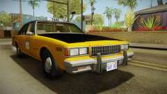 Chevrolet Caprice Taxi 1986 for GTA San Andreas