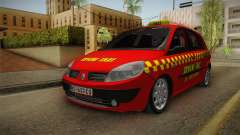 Renault Scenic Mk2 Crveni Taxi for GTA San Andreas
