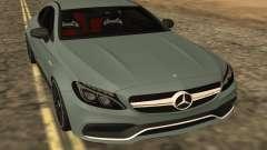 Mercedes-Benz C63S 2017 for GTA San Andreas