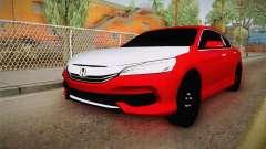 Honda Accord 2017 Hajwalla for GTA San Andreas