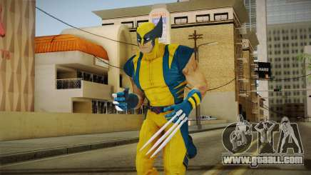 Marvel Heroes - Wolverine Modern UV for GTA San Andreas