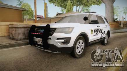 Ford Explorer 2012 Angel Pine PD for GTA San Andreas