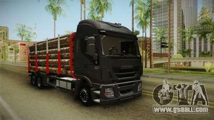 Iveco Stralis Hi-Way 560 E6 6x2 Timber v3.0 for GTA San Andreas
